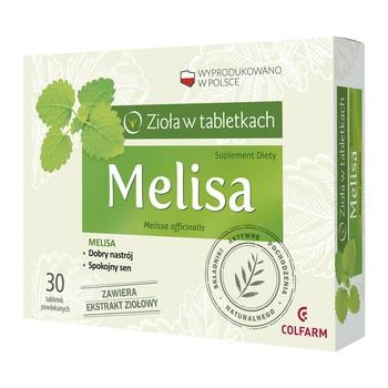Melisa tabletki